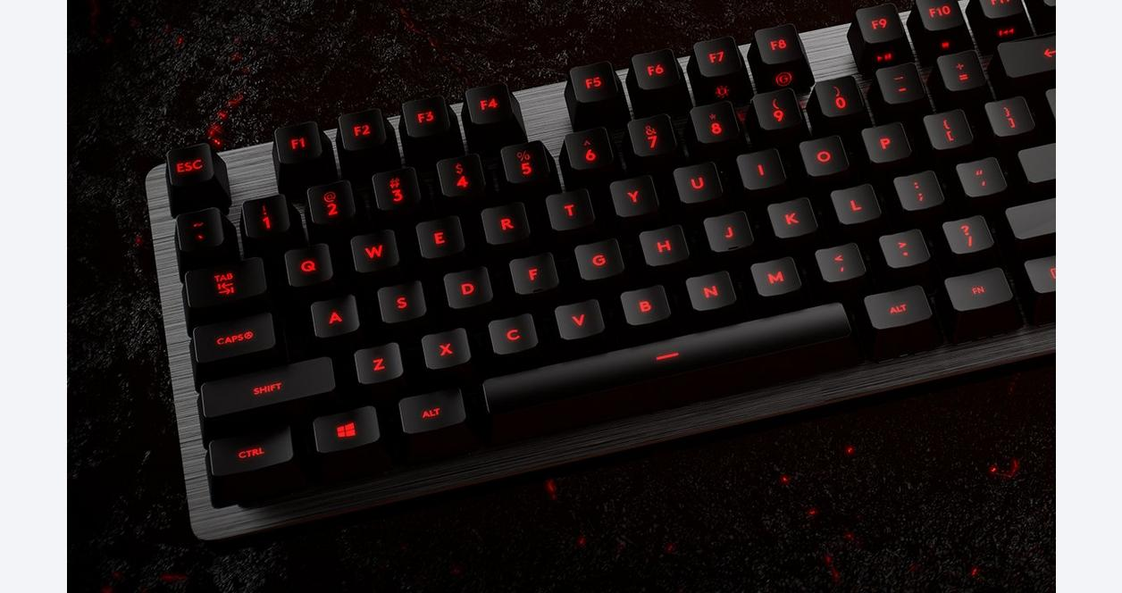 G413 Romer-G Tactile Switches Wired Mechanical Gaming Keyboard