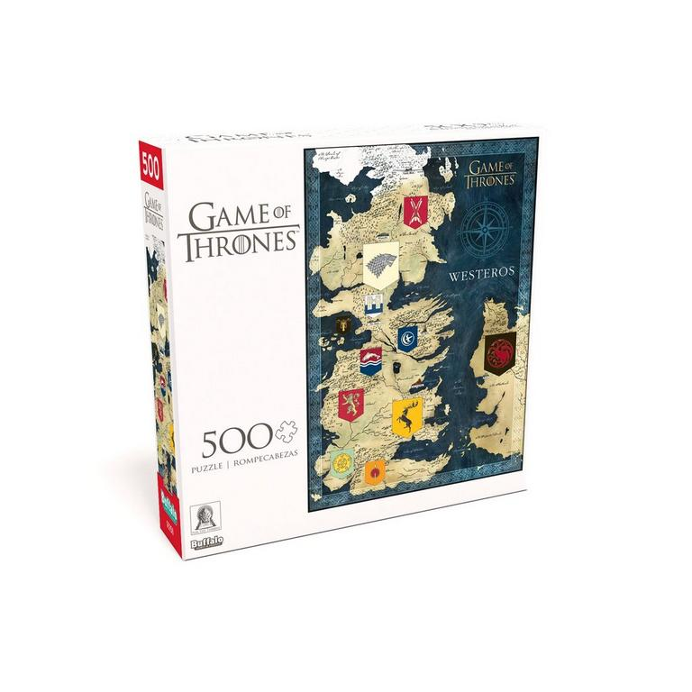 Game of Thrones Map of Westeros Puzzle