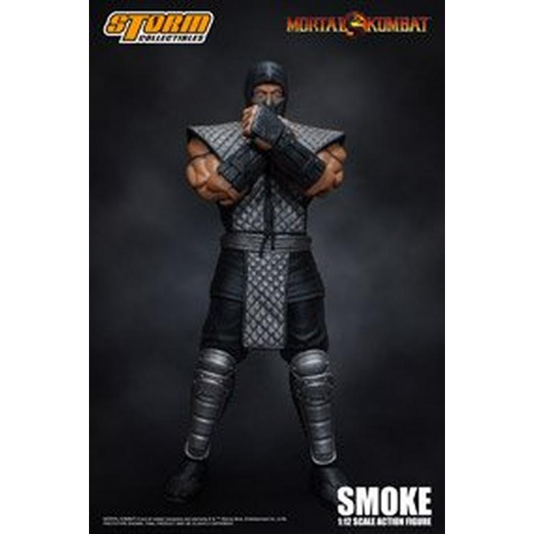 Mortal Kombat Smoke Action Figure Fall Convention 2018
