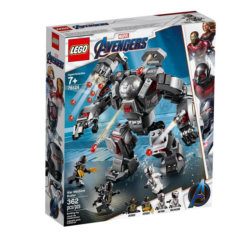 LEGO Marvel Avengers War Machine Buster 76124