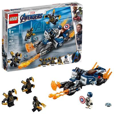 LEGO Super Heroes Captain America: Outriders Attack