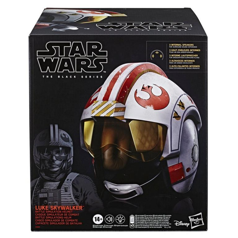 Star Wars Luke Skywalker The Black Series Battle Simulation Helmet