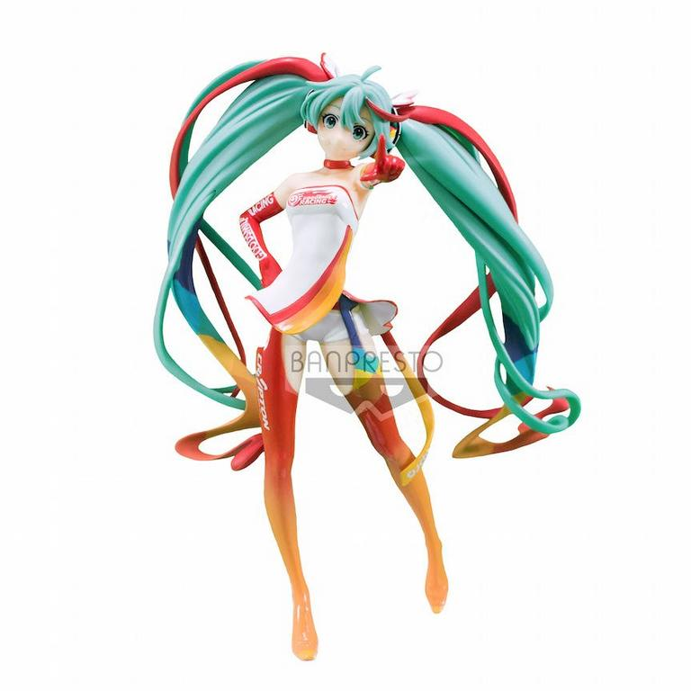 Vocaloid Hatsune Miku Racing 2016 Version Prize Statue