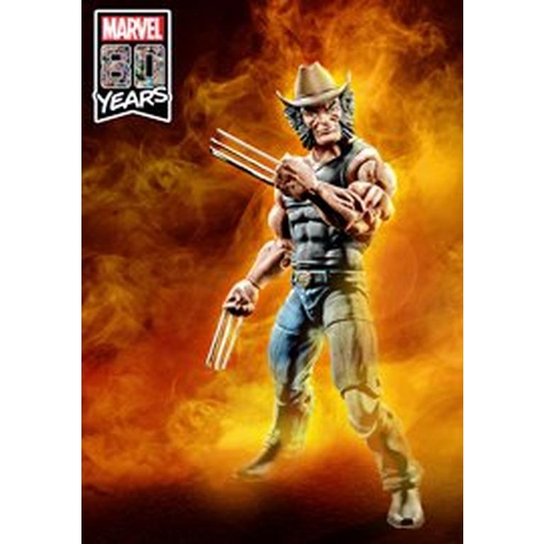 Marvel Legends Series 80th Anniversary Cowboy Logan Action Figure