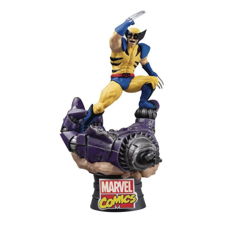Marvel Comics: X-Men - Wolverine D-Stage Series 6-inch Statue
