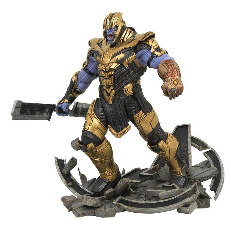 Avengers: Endgame Armored Thanos Marvel Milestones Statue