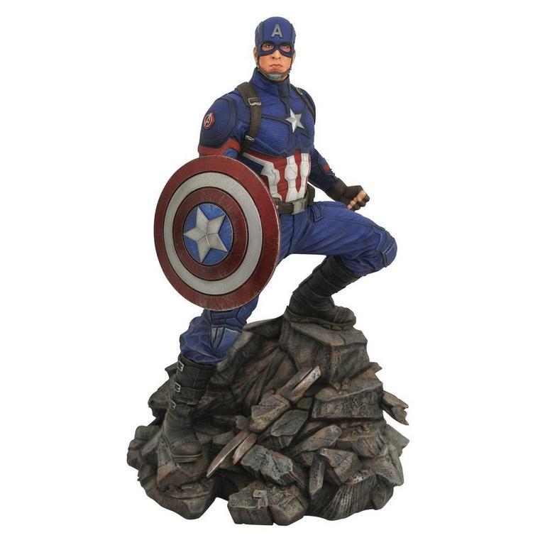 Marvel Premier: Avengers Endgame - Captain America Statue