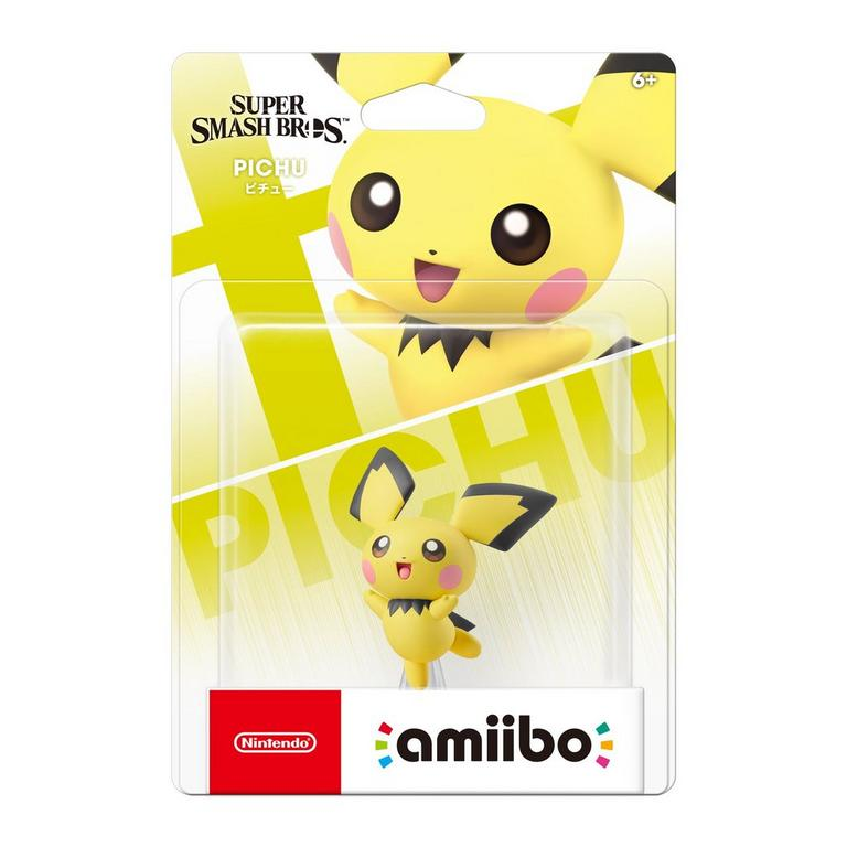Super Smash Bros. Pichu amiibo Figure
