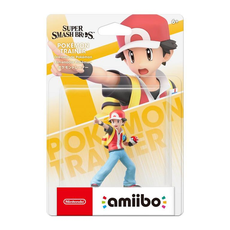 Super Smash Bros. Pokemon Trainer amiibo