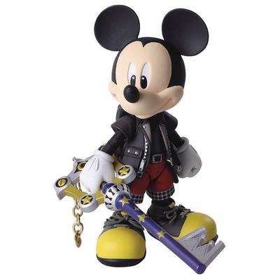 Kingdom Hearts III Bring Arts King Mickey Action Figure | GameStop