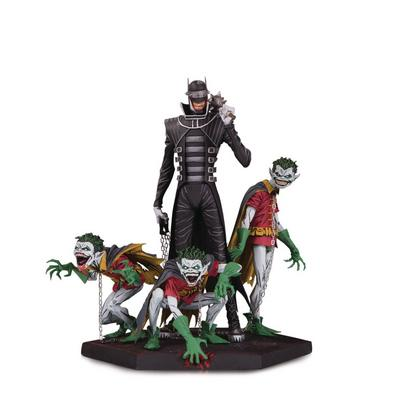 Dark Nights: Metal - Batman Who Laughs and Robin Minions Deluxe Statue