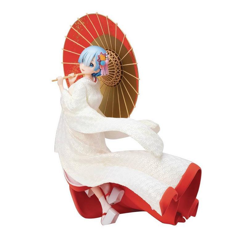 Re:Zero Starting Life in Another World Rem Shiromuku Version Statue
