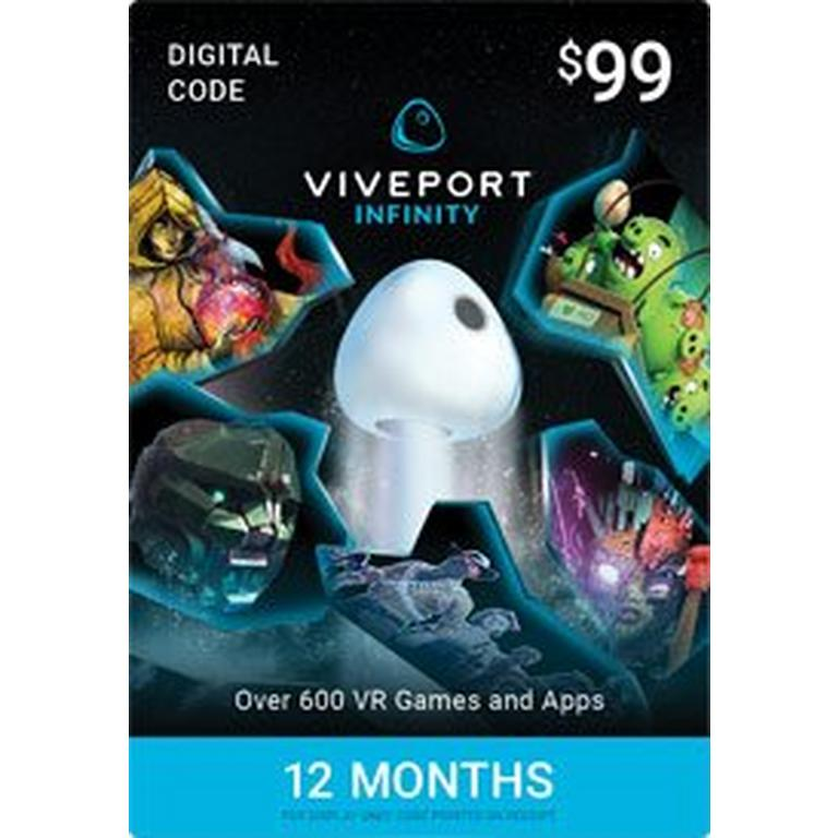 Viveport Infinity 12-Month Access Digital Card