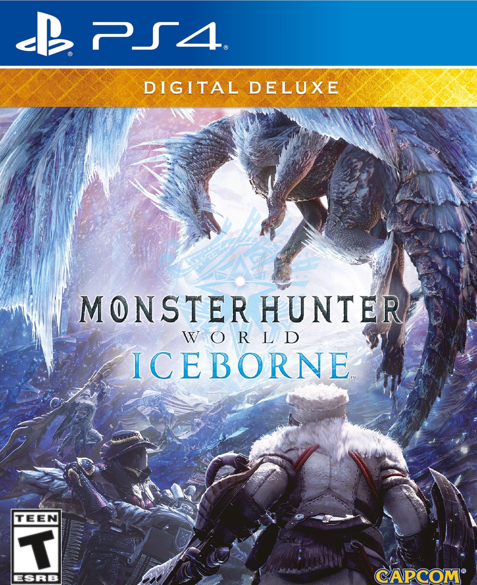 Monster Hunter World: Iceborne Deluxe Edition | PlayStation 4 | GameStop