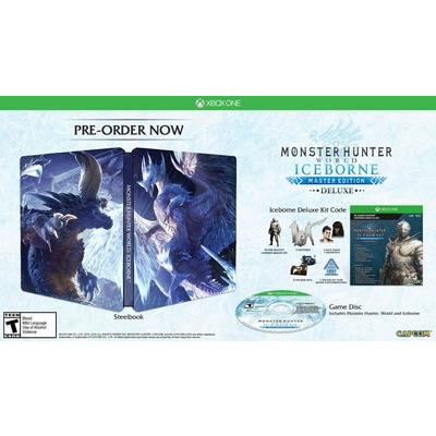 Monster Hunter: World Iceborne Master Edition Deluxe