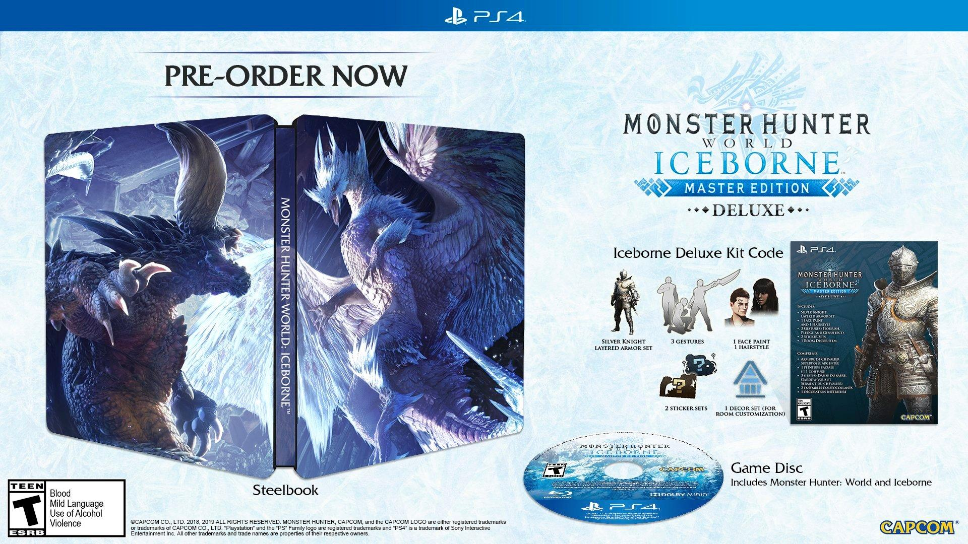 Monster Hunter: World Iceborne Master Edition Deluxe | PlayStation 4 |  GameStop