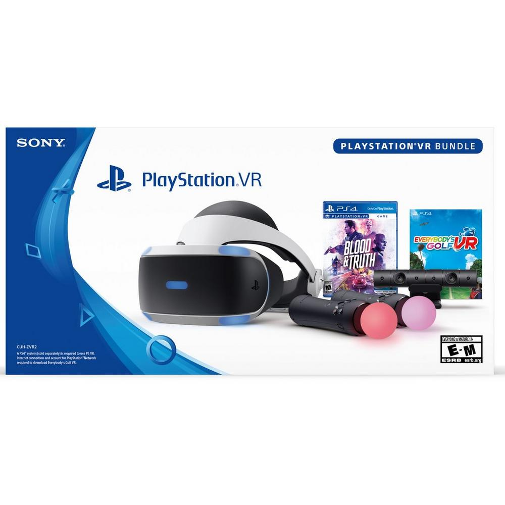 PlayStation VR Blood and Truth and Everybody Golf VR Bundle | PlayStation 4  | GameStop