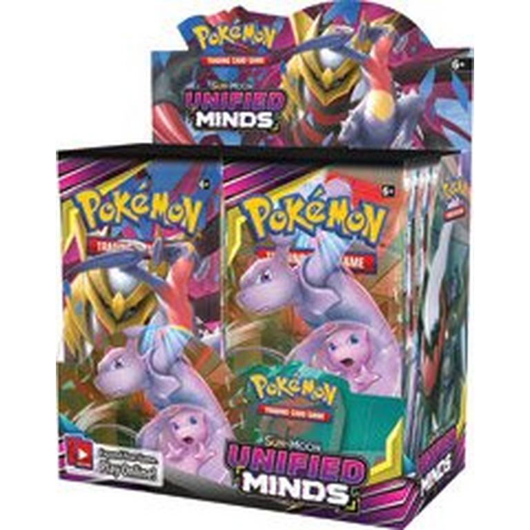 Pokemon Trading Card Game: Sun and Moon Unified Minds Booster Box