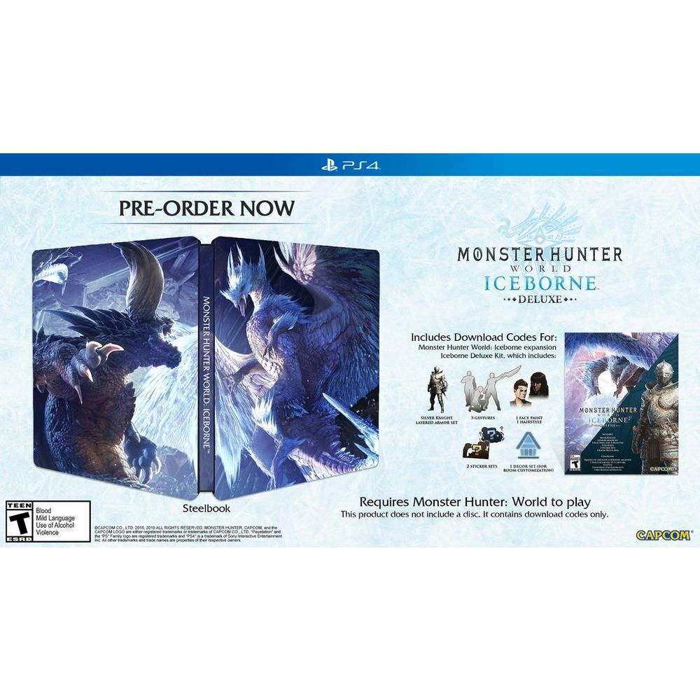 Monster Hunter: World Iceborne Deluxe Edition Only at GameStop |  PlayStation 4 | GameStop