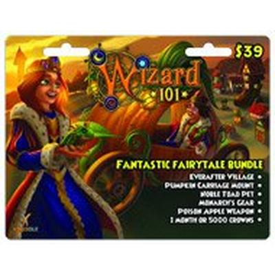 Wizard 101 Fantastic Fairytale Bundle Digital Card