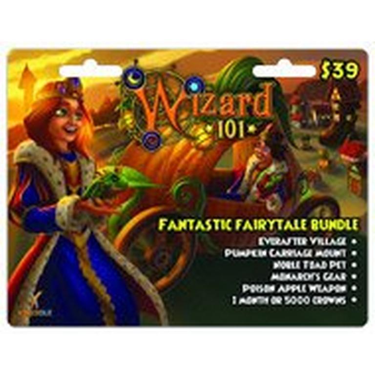 Wizard 101 Fantastic Fairytale Bundle Digital Card