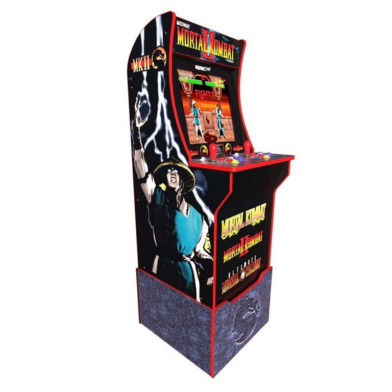 Mortal Kombat Arcade Cabinet With Riser