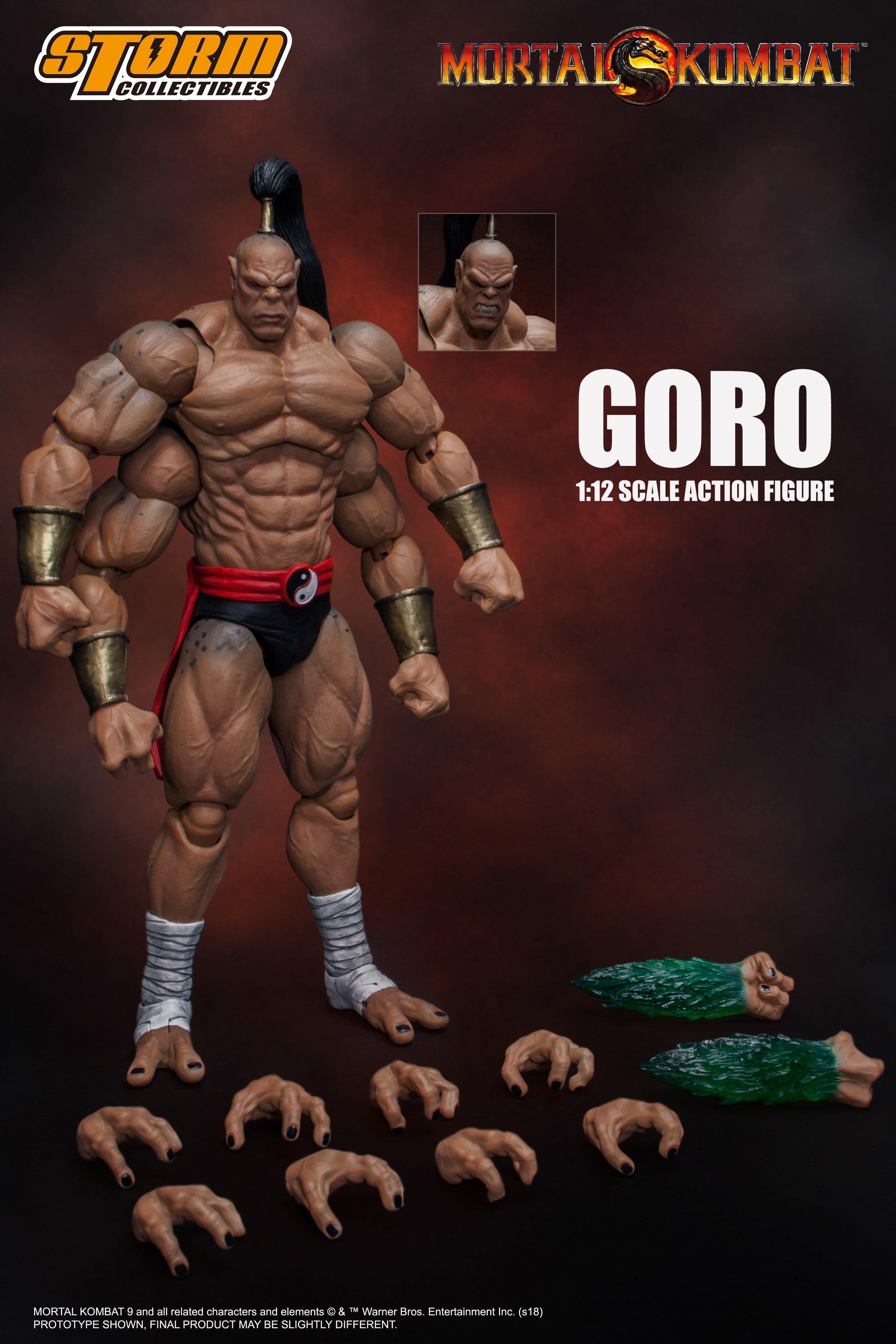 Mortal Kombat Goro Action Figure Gamestop