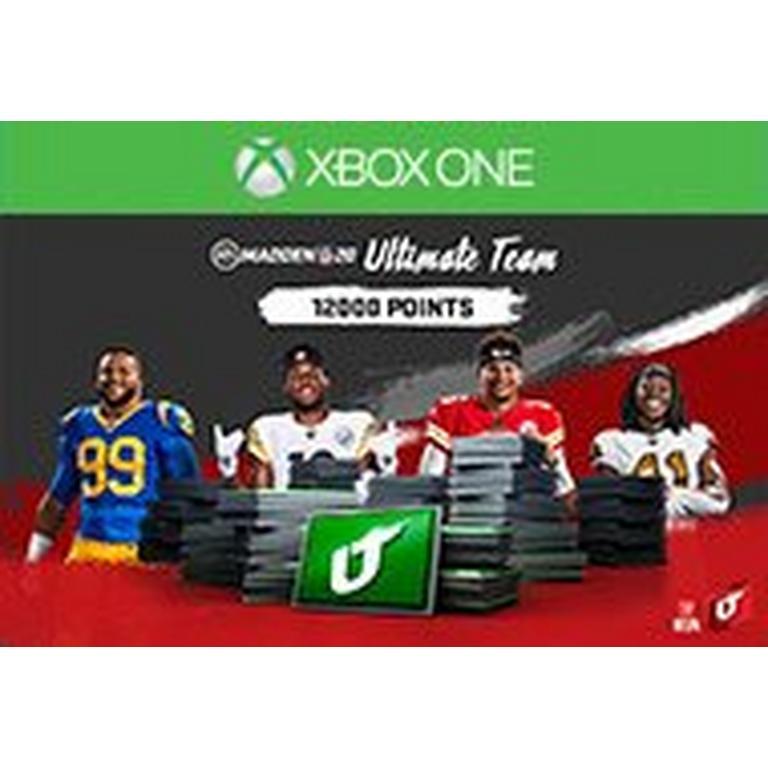 Madden NFL 20 12000 Ultimate Team Points Digital Card