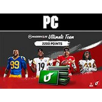 Madden NFL 20 2200 Ultimate Team Points Digital Card