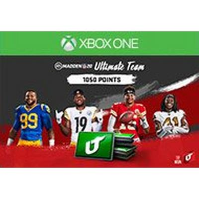 Madden NFL 20 1050 Ultimate Team Points Digital Card