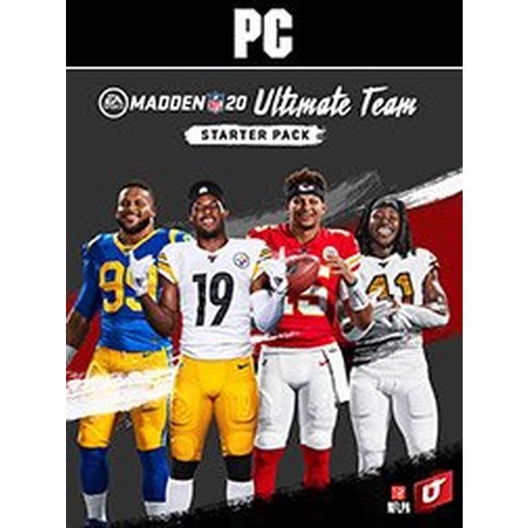 Madden NFL 20 Ultimate Team Starter Pack
