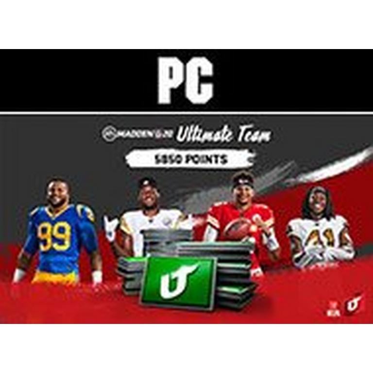 Madden NFL 20 5850 Ultimate Team Points Digital Card