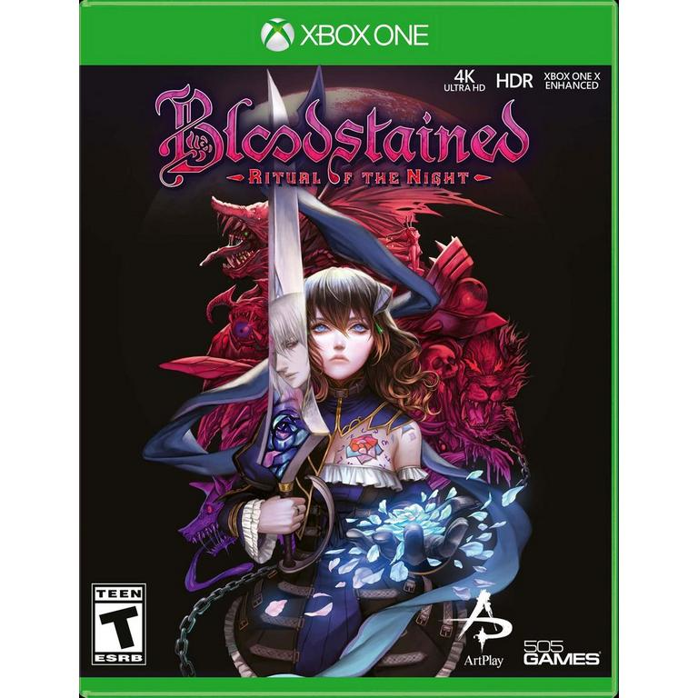 505 Games Bloodstained: Ritual of the Night Xbox One Available At GameStop Now!