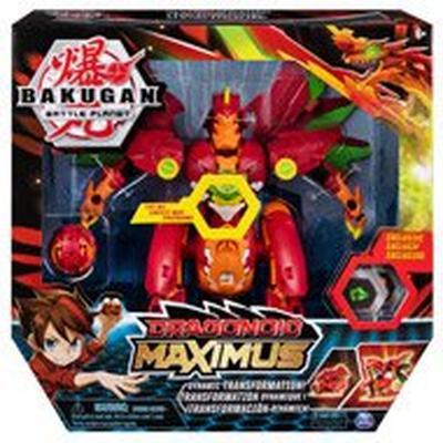 Bakugan Battle Planet Dragonoid Maximus Figure