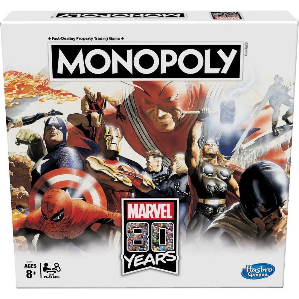 Monopoly Marvel 80 Years Edition Board Game | GameStop