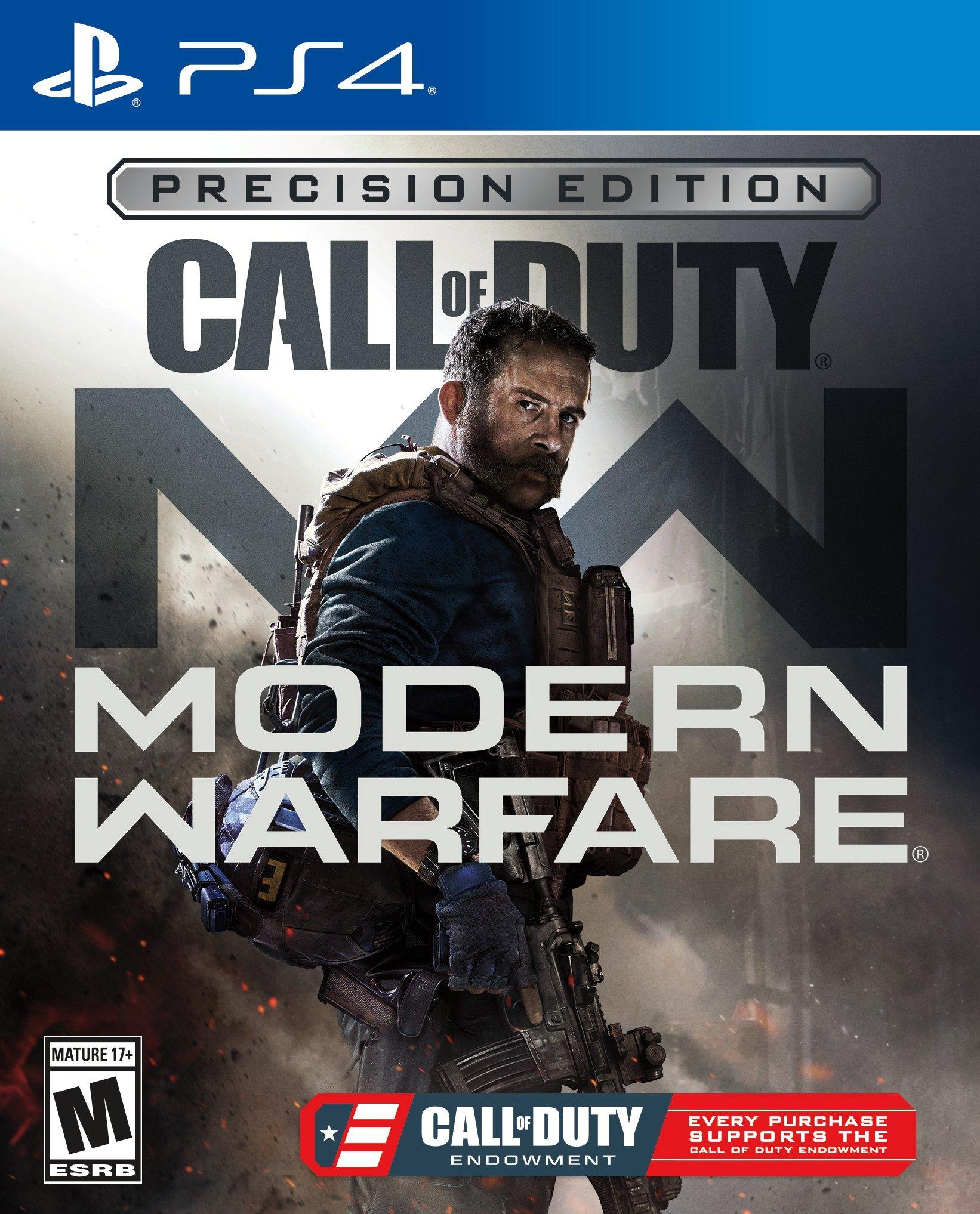 Call Of Duty Modern Warfare C O D E Precision Edition Only At