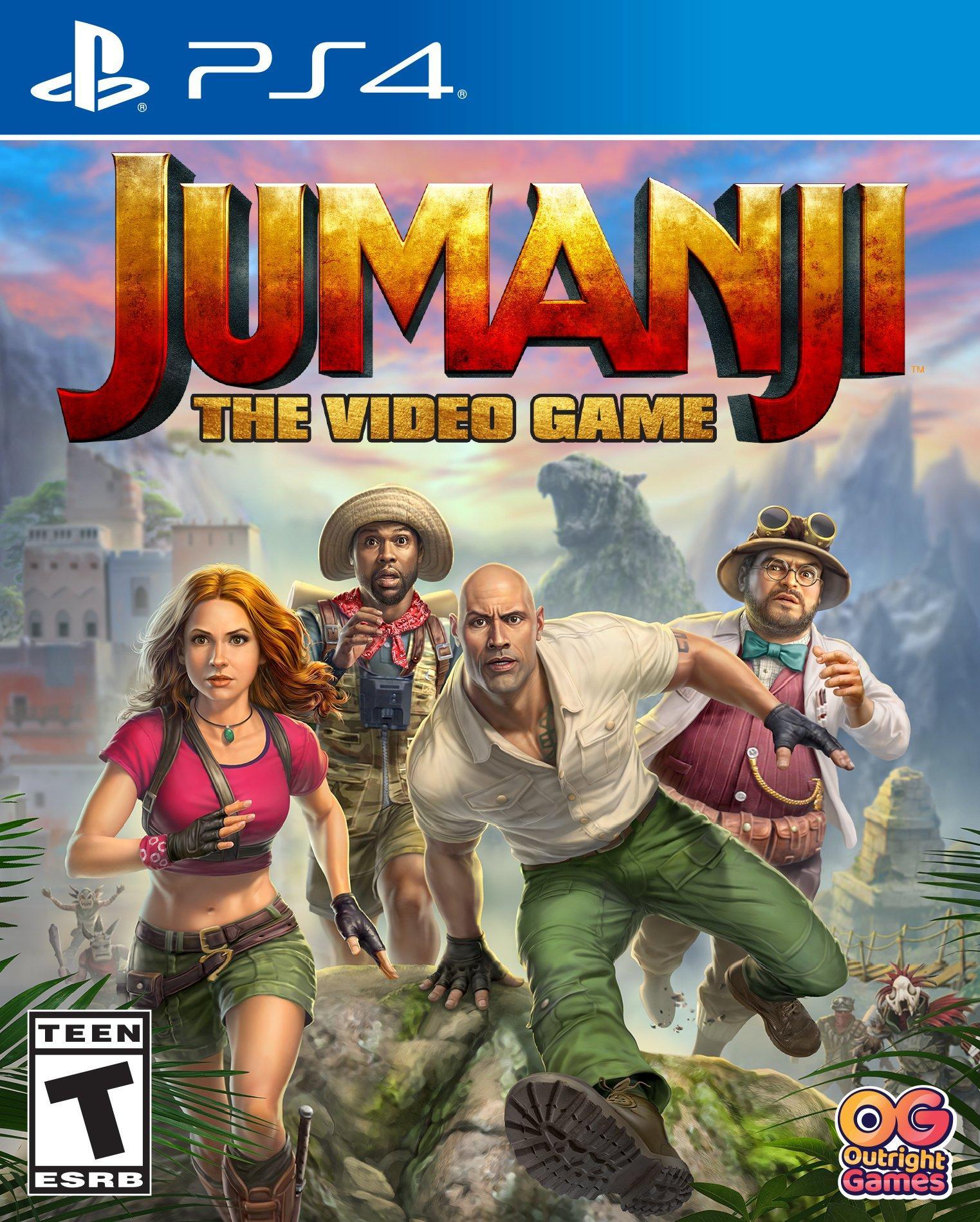 Jumanji The Video Game Playstation 4 Gamestop