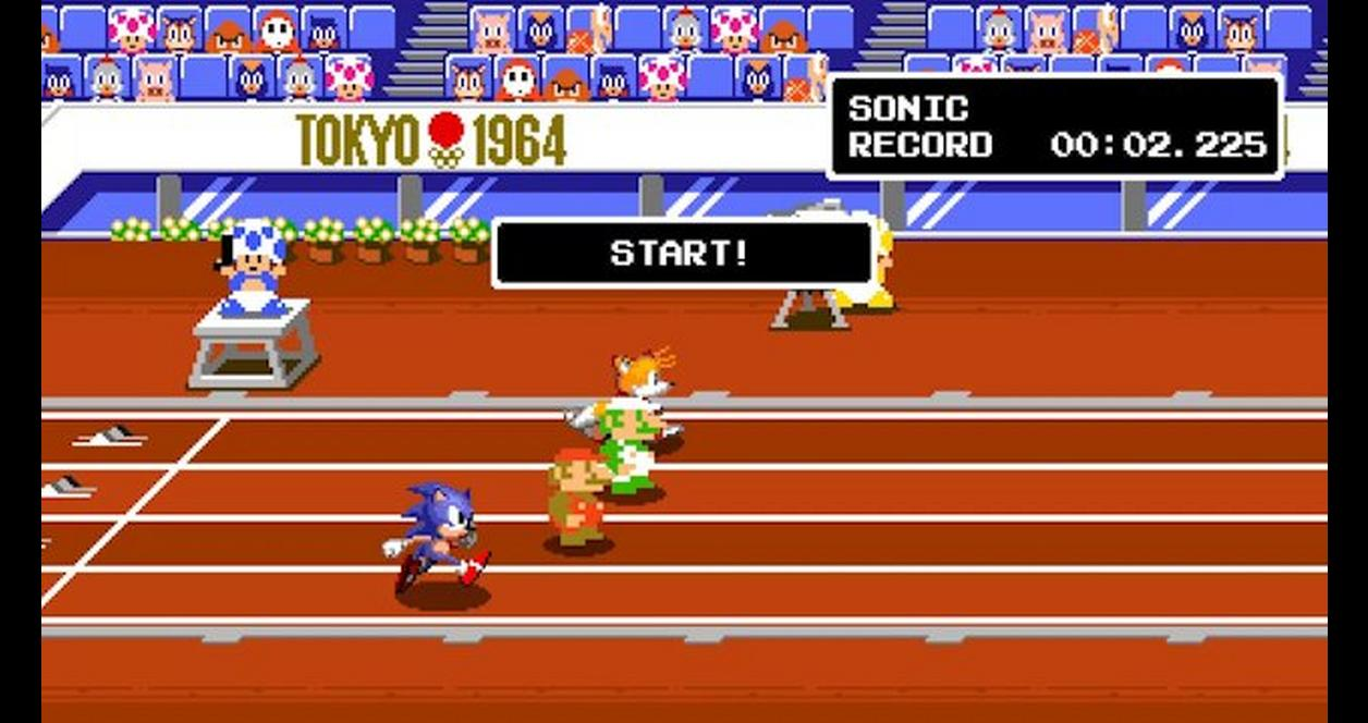 Mario and Sonic at the Olympic Games Tokyo 2020