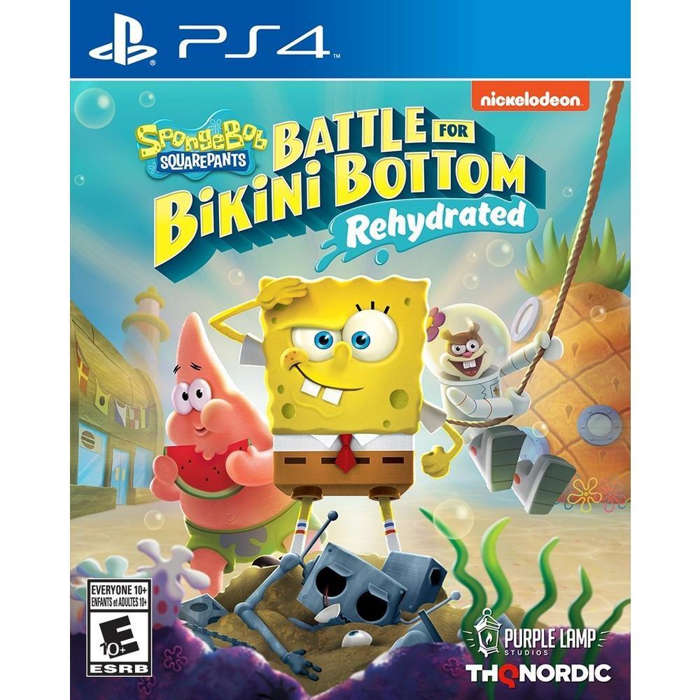 SpongeBob SquarePants: Battle for Bikini Bottom Rehydrated | PlayStation 4  | GameStop