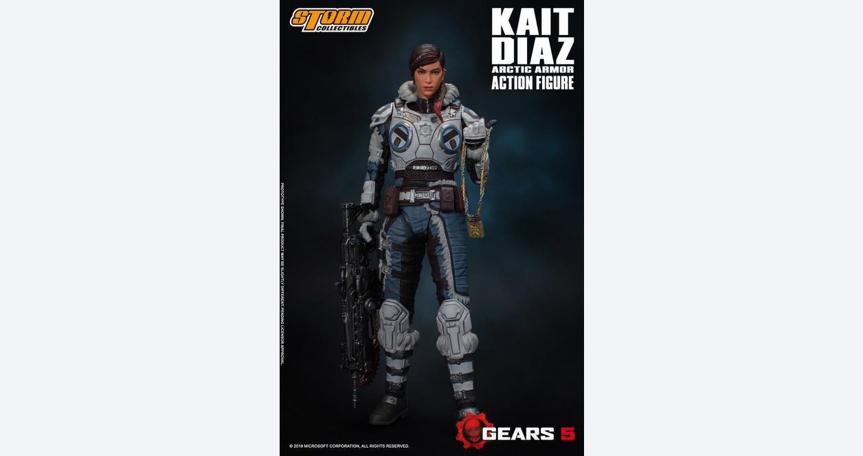 Gears 5 Kait Diaz Winter Armor Action Figure