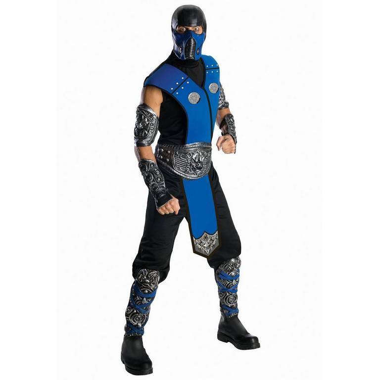 Mortal Kombat Sub-Zero Deluxe Costume