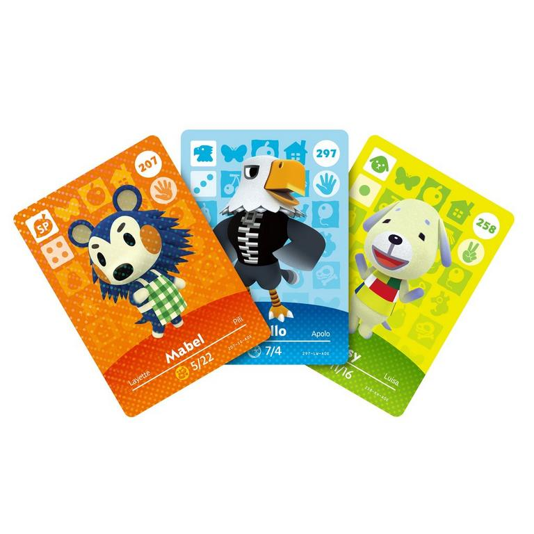 Animal Crossing Series 3 amiibo Trading Cards