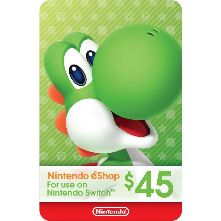 Nintendo eShop $45