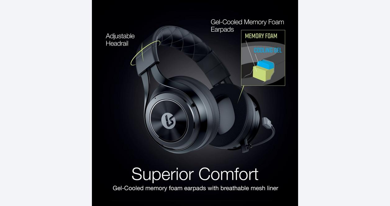 LS35X Black Direct Connect Wireless Gaming Headset for Xbox One