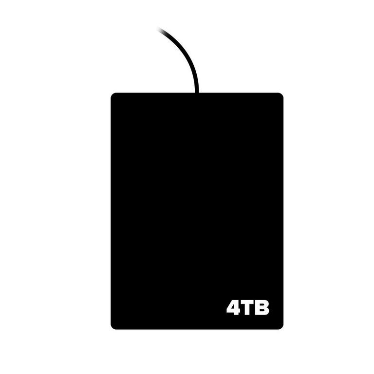 External Hard Drive 4TB (Assortment)