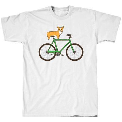 Corgi on Bike T-Shirt