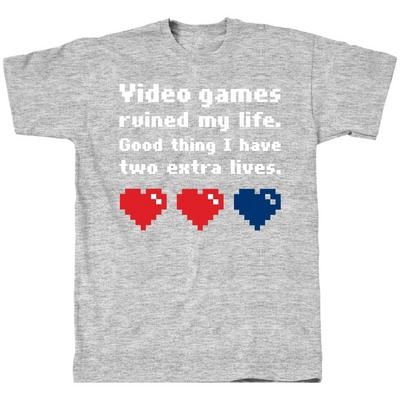 Video Ruined Life T-Shirt