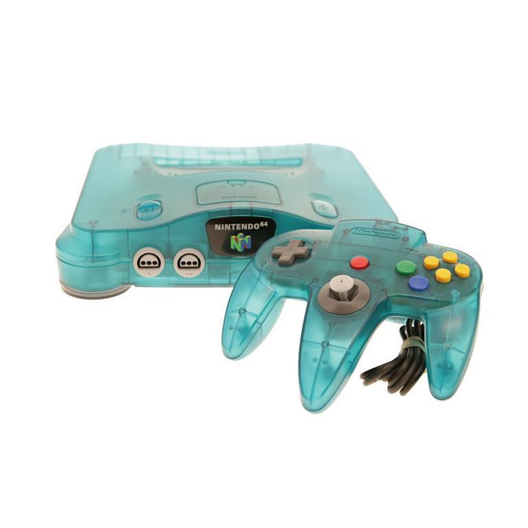 Nintendo 64 Teal