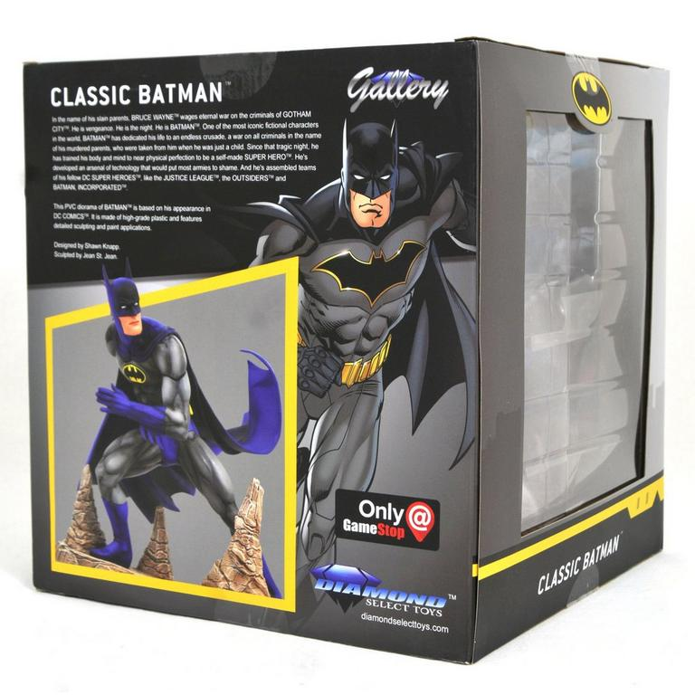 Batman Classic DC Gallery Statue Only at GameStop
