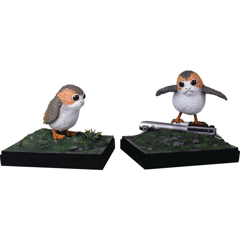 Star Wars Episode VIII: The Last Jedi Porg Bookends